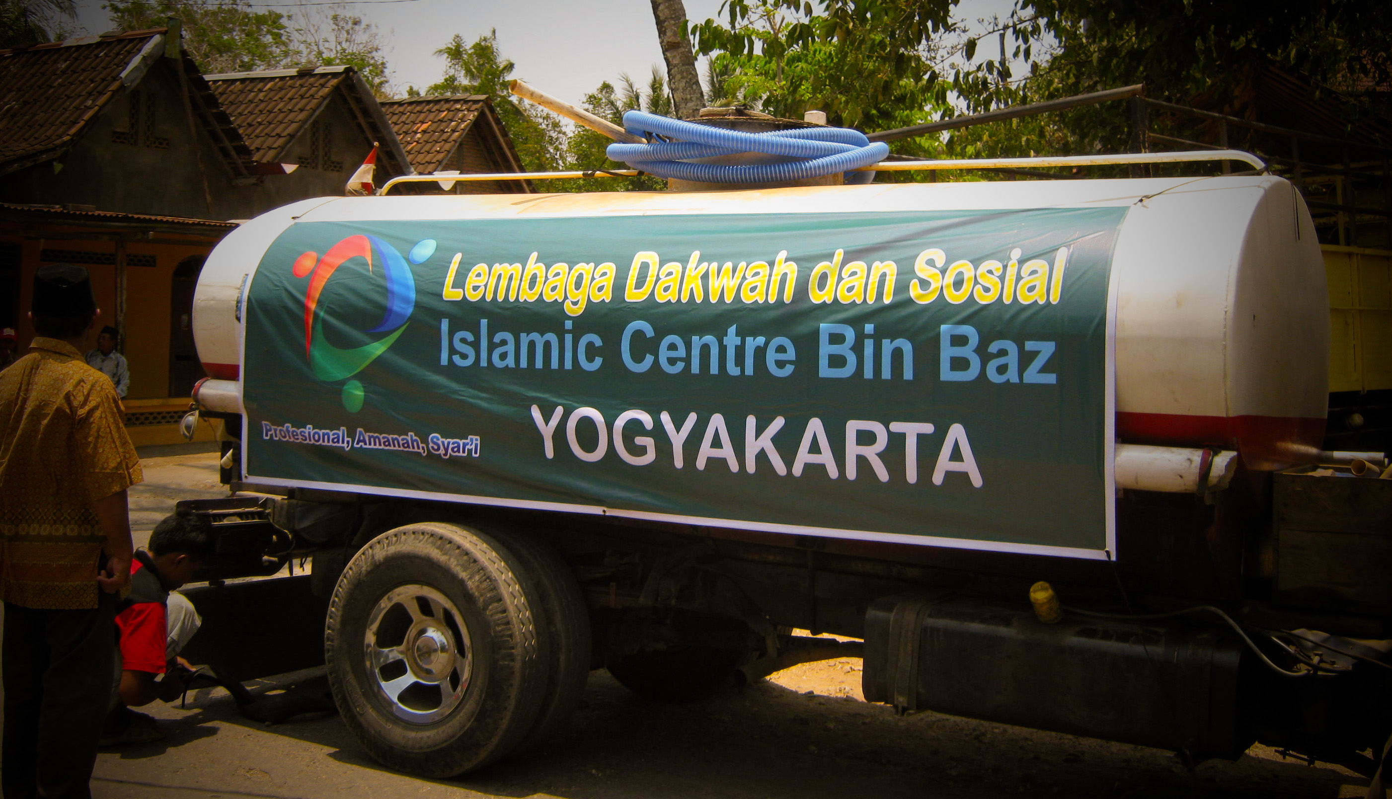 Penyaluran Air Bersih di Gunung Kidul