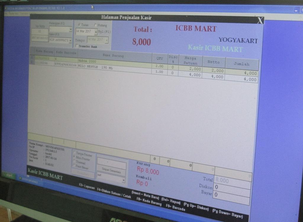 Lowongan Akuntan Unit Usaha Pondok ICBB